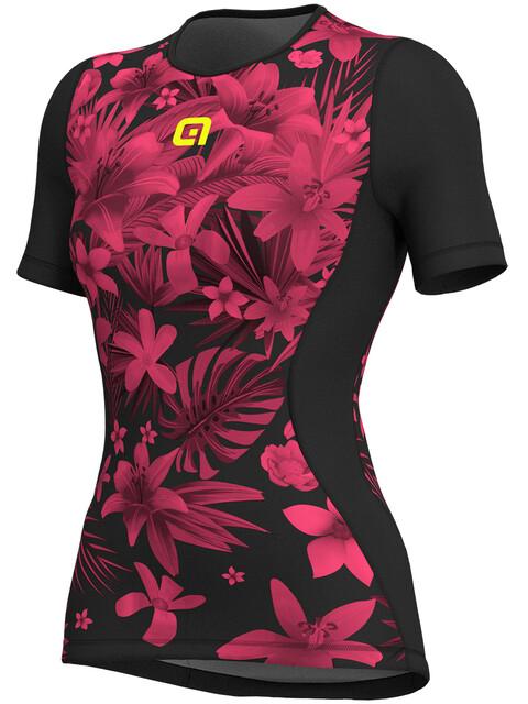 Alé Cycling Intimo Sartana SS Baselayer Women flou pink-black